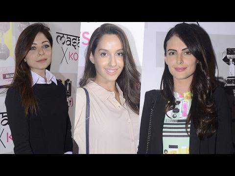Nora Fatehi, Mandana Karimi And Other Celebs At Masaba X Koovs Launch Party