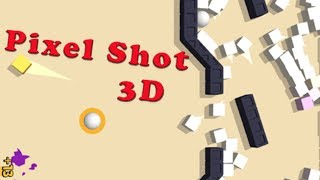 Pixel Shot 3D - Rollic Games Walkthrough
