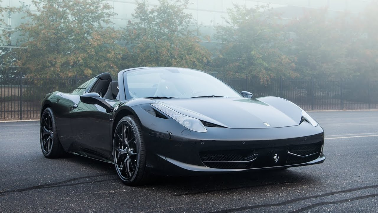 2014 Ferrari 458 Spider - WR TV Sights & Sounds - YouTube