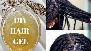 DIY |  Make PERFECT Flaxseed & Aloe Vera Gel For Twisting Locs