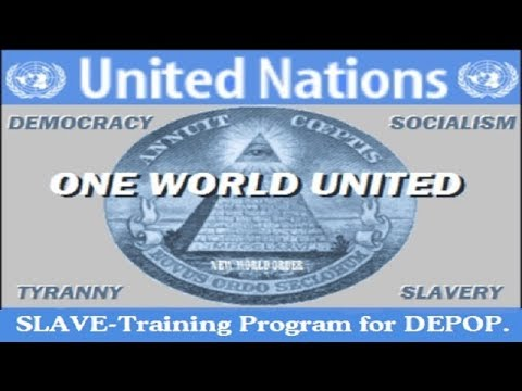 Alan Watt (July 23, 2017) The U.N.'s Holy Orders Demand Depopulation, Slave-Training by Education