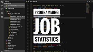 Programming job statistics