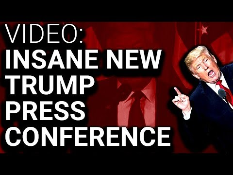 Trump Press Conference Becomes Deranged House of Horrors