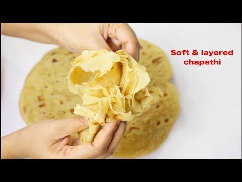 How To Make Perfect Soft & Layered Chapathi/Soft Chapati Full Of Layers/ಮೃದುವಾದ ಚಪಾತಿ