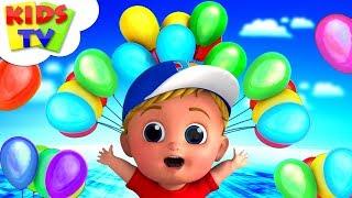 Ballon-Song | Junior Squad Cartoons | Kinderreime Für Kinder | Cartoons - Kinder-Tv