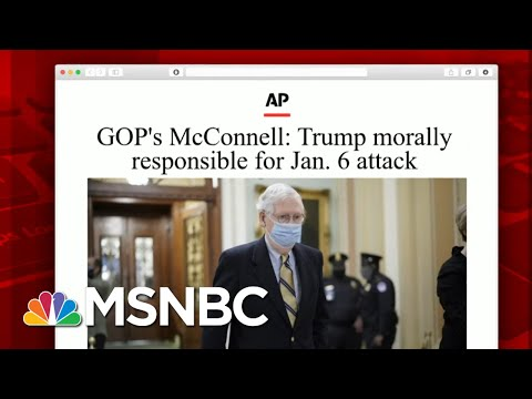 What GOP Who Voted To Convict Had To Say About Their Decision   Morning Joe   MSNBC