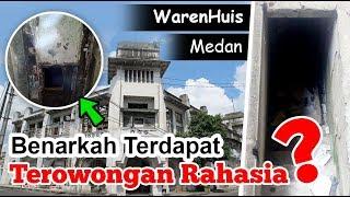 Gedung Waren Huis, benarkah terdapat terowongan rahasia....?