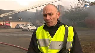 Près d'Alençon, les locaux de l'association d'insertion Anais ravagés par les flammes