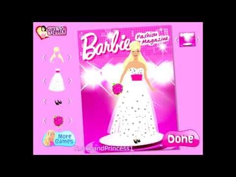 Barbie Fashion Magazine Game - Barbie Games For Girls