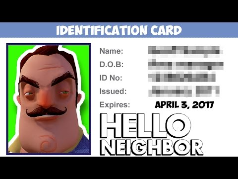 Minecraft Hello Neighbor - What Is The Neighbors Name (Minecraft Roleplay)