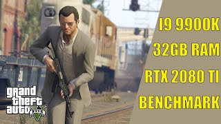 GTA V (RTX 2080TI/Intel Core i9 9900K/32GB RAM) TEST