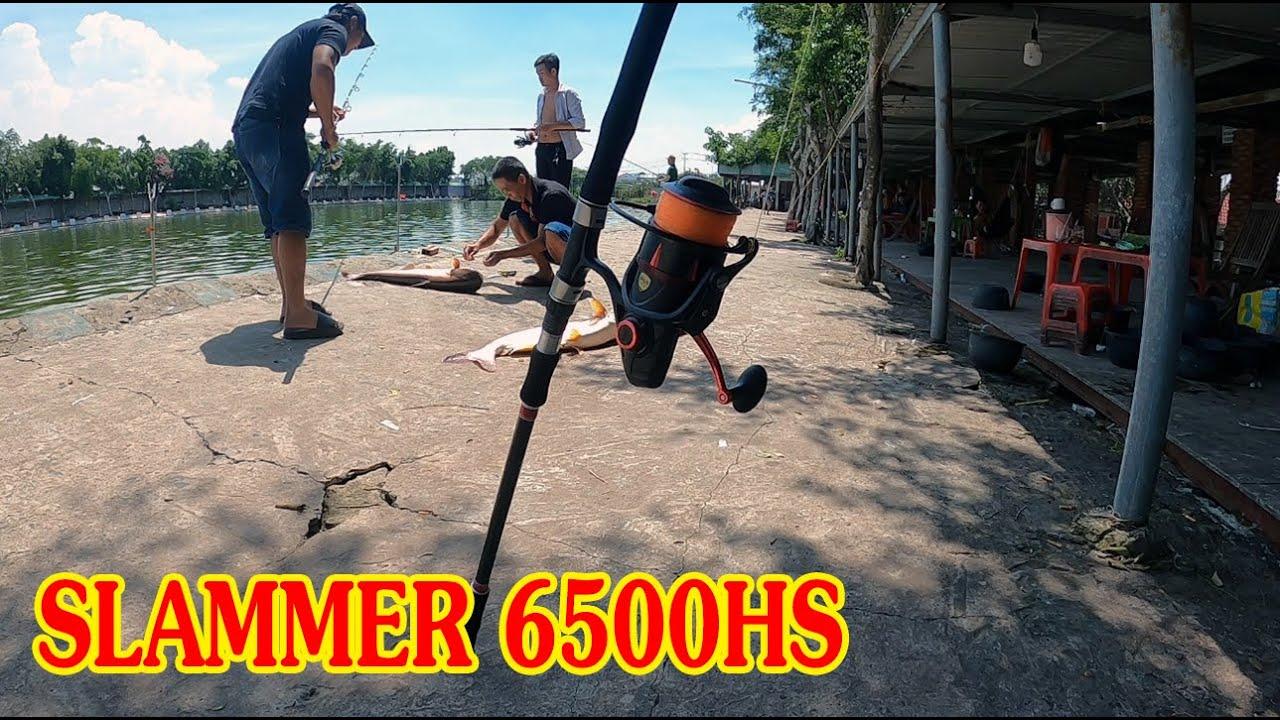 Máy Penn Slammer III 6500HS Solo Với Máy Khác Khi 2 Cá Lên Cùng Lúc Và Kết Quả
