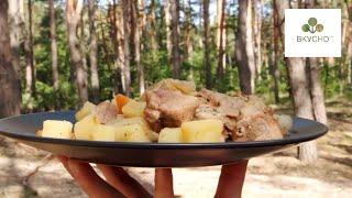 Готовим в Лесу Секретный Рецепт Который знает каждый Егерь / Вкусно/  Рецепты / Chef*