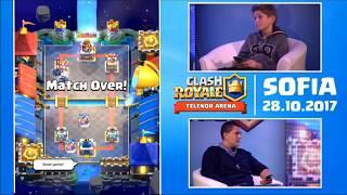 Clash Royale - LIVE - Telenor Arena СОФИЯ