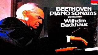 Beethoven - The Complete (32) Piano Sonatas (reference recording : Wilhelm Backhaus) - Stafaband
