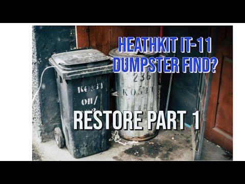 Heathkit IT-11 RESTORE PART 1