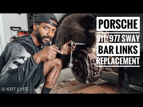 Porsche 911 / 997 SWAY BAR LINKS DIY REPLACEMENT!!!!
