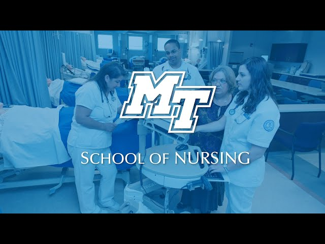 Students Who Care For One Another | MTSU School of Nursing