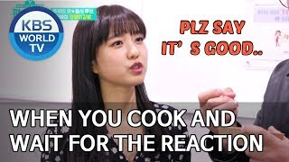When you cook and wait for the reaction [Stars' Top Recipe at Fun-Staurant/2020.01.27]