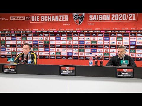 7. Spieltag   FCI - SGD   Pressekonferenz nach dem Spiel