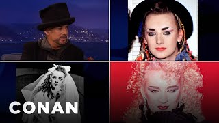 The Many Faces Of Boy George  - CONAN on TBS