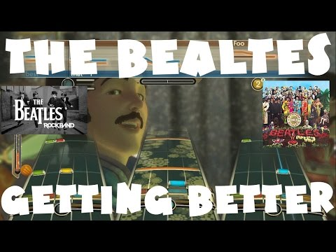 The Beatles - Getting Better - The Beatles: Rock Band Expert Full Band (REMOVED AUDIO)