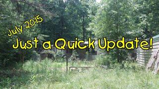 just a quick update