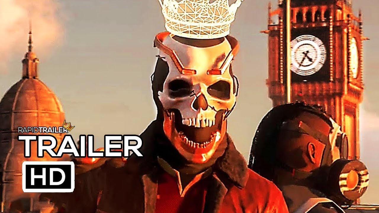 WATCH DOGS 3 LEGION Official Trailer (2020) E3 2019 Game HD
