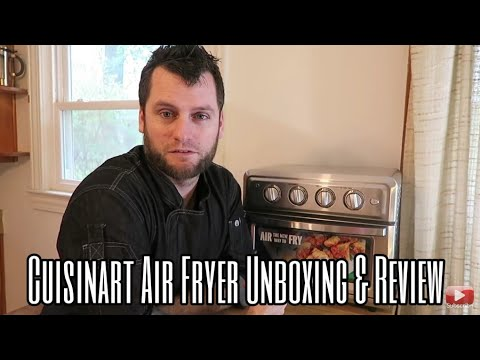Cuisinart Airfryer Toaster Oven – Air Fryer Demo Video and Review – Plant Based Home Chef Jeremiah