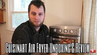 Cuisinart Airfryer Toaster Oven - Air Fryer Demo Video and Review - Plant Based Home Chef Jeremiah