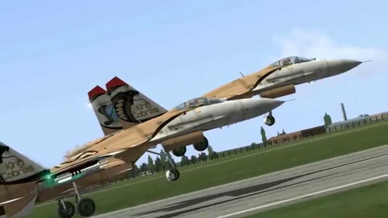 "VAT ""King Cobras"" - Virtual Aerobatics 2 Year Anniversary Air Show"