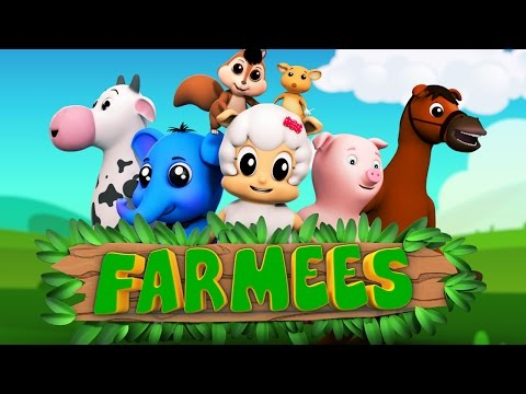 Animal nursery rhymes | Kids songs | Preschool videos for children by Farmees  S02E09