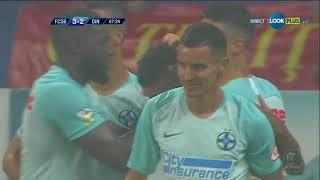 Florinel Coman inscrie de 3-2 in FCSB - Dinamo Bucuresti