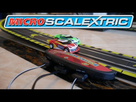 MICRO SCALEXTRIC REVIEW & UNBOXING