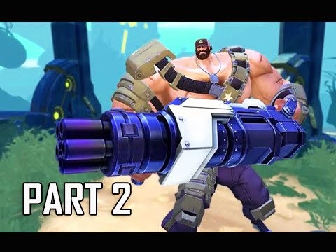 Battleborn Walkthrough Part 2 - Episode 2 Void's Edge Let\'s Play Commentary