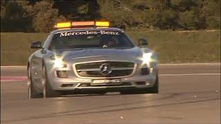 Mercedes-Benz SLS AMG F1 Safety Car 2010 Videos