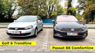Разумный выбор в доступном бюджете // Покупаем в Германии VW Golf6 и Passat B8