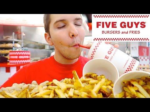 Five Guys • MUKBANG
