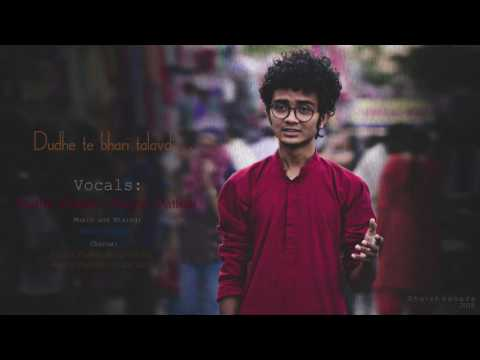 Gujrati new Garba unplugged  song by Hardik chaudhary