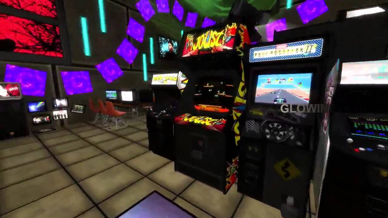 3D VR Desktop & Multiplayer Web w/ Oculus: Anarchy Arcade by Elijah