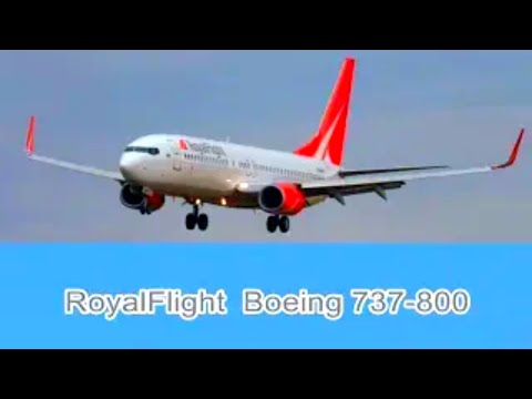 Boeing 737 800 Aviakompaniya Royal Flight Vzlet Aeroport