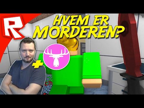 HVEM ER MORDEREN? - Roblox Dansk med Den Mandige Elg Murder Mystery 2