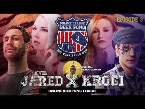 *LATEX FETISH EDITION* Online Beer Pong EP. 03 Evil Jared & Frau Tagtraum vs. Krogi & Tenebris