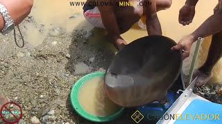 Mini Draga 72 Toneladas por Día (Captura 98% del oro)- Choco, Colombia - www.colombiamines.com
