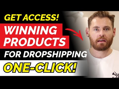 100 Winning Products with ONE-CLICK | winning products shopify 2020 thumbnail