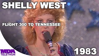 """Shelly West - """"Flight 300 To Tennessee"""" (1983) - MDA Telethon"""