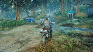 Deacon's first Bike Chase - Days Gone PC