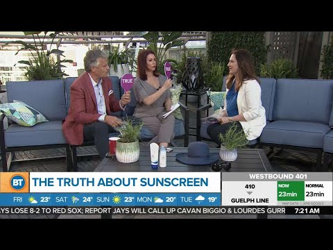 The truth about sunscreen