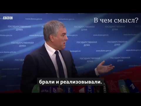 Бессмысленное «всероссийское голосование» об изменении Конституции