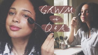 GRWM / Q&A | W/ Vanity Planet Oval Makeup Brushes